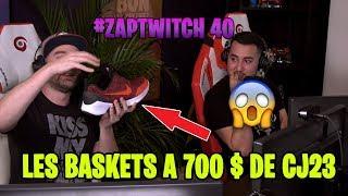 LES CHAUSSURES A 700 $ DE YANN (CJ23) ! LE PIEGE 200 IQ DE KINSTAAR ! #ZAPTWITCH 40