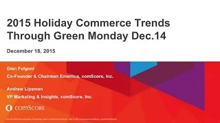 Digital Commerce - Deborah Weinswig Special Discussion with comScore