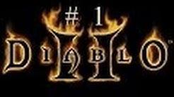 Let's Play Diablo 2 (German) #1 - Bleibt ein Weilchen und hört zu