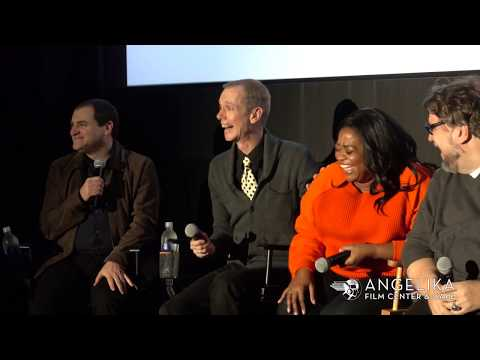Michael Stuhlbarg & Octavia Spencer on acting with Doug Jones  THE SHAPE OF WATER