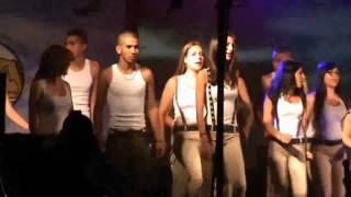 Jewish Dancing at Israel Air Force party (Israeli dancing IAF Israeli women dance)