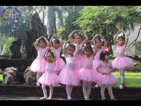 Lớp nhảy múa cho bé tại Hải Phòng