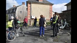 Balade urbaine à vélo - projet de ZAC à Saint-Lô (Manche)