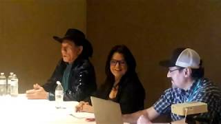 Indigenous Comic Con (I-Con 2018) Wes Study / Georgina Lightning Interview .