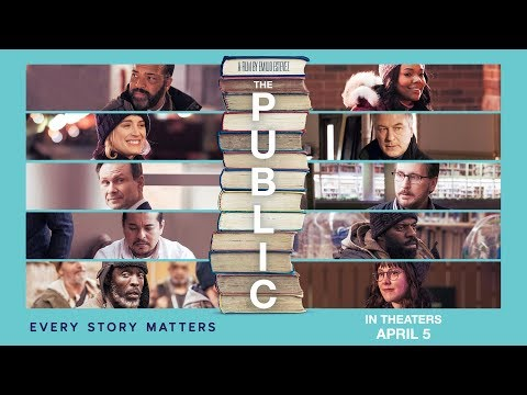 THE PUBLIC Official Trailer | In Theaters Everywhere April 5