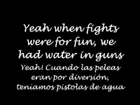 Pretend-Lights [Lyrics: English&Spanish]
