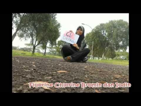 Tabel Periodik Unsur Kimia (Cover One Direction) SMAN 4 KABUPATEN TANGERANG