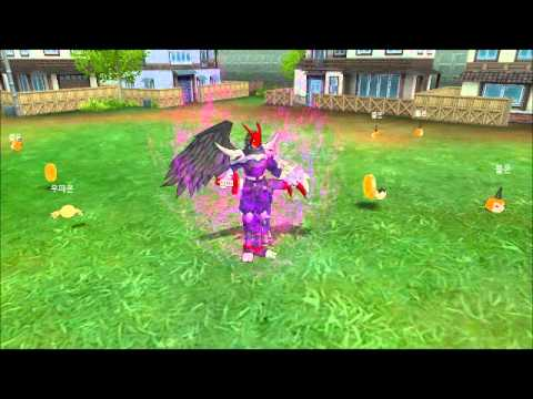 Digimon Masters Online - Falcomon - all evolutions and attacks