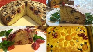 Вкусные летние пироги.  Простые и быстрые рецепты
