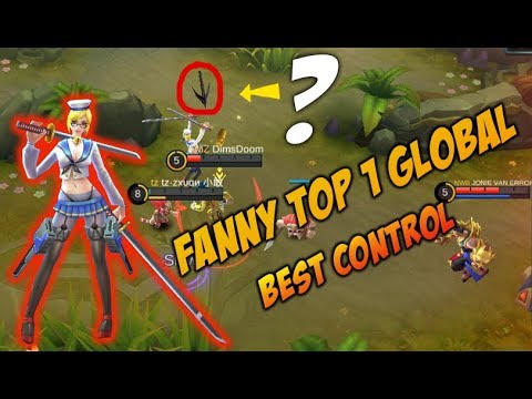 New Maps ! Aksi ZXUAN User Fanny No 1 Terhebat Di Dunia Kontrol Nya Ajib Mobile Legends