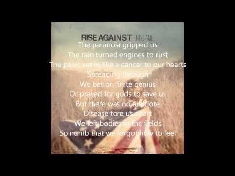 Rise Against - EndGame - EndGame lyrics