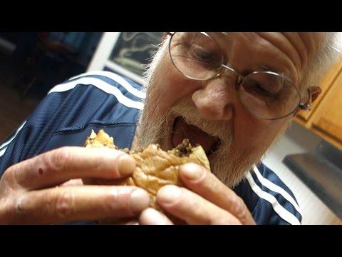 THE ANGRY GRANDPA SANDWICH!