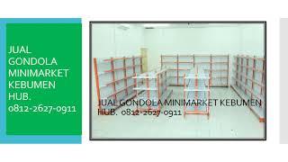 PROMO 0812-2627-0911 Jual Gondola Minimarket Kebumen, Gratis Software