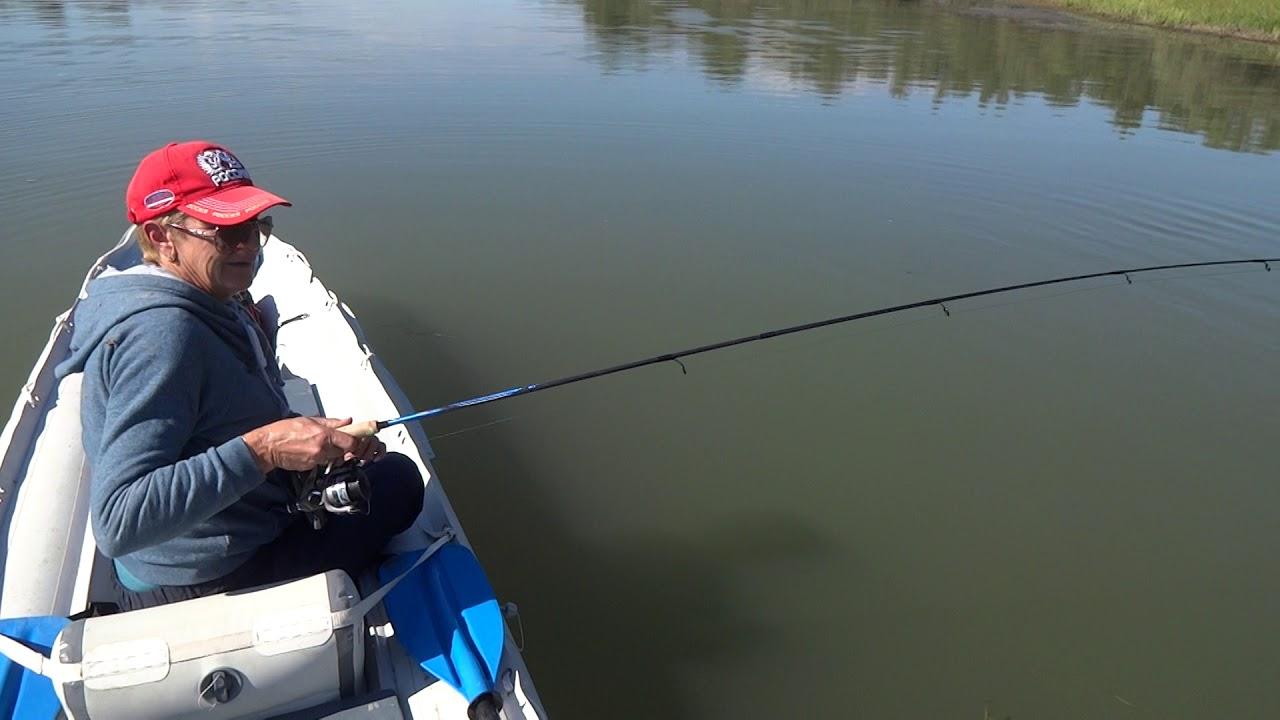 В первый раз на рыбалке