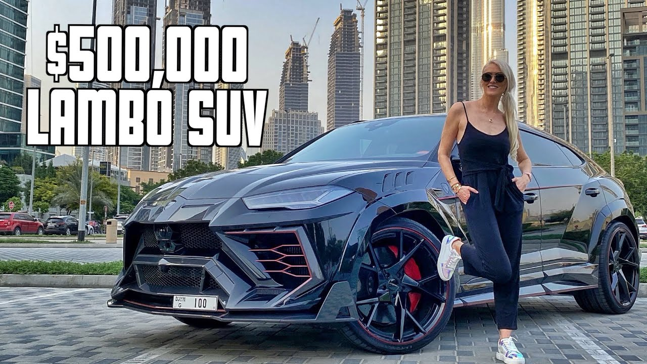 Meanest Lamborghini Urus by Mansory