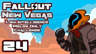 Let's Play Fallout: New Vegas [Modded] - Low Intelligence & Melee Only Challenge! - Part 24 thumbnail