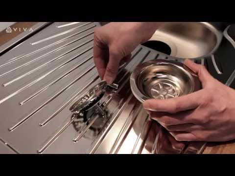 How to Install or Replace a Basket Strainer Sink Waste in a Kitchen