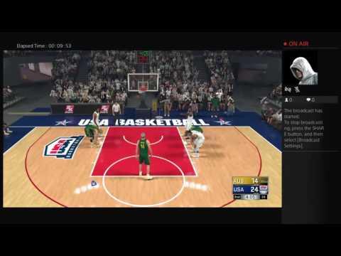 [2k17] gameplay,TEAM USA