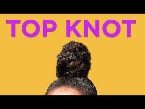 Top Knot In 45 Seconds