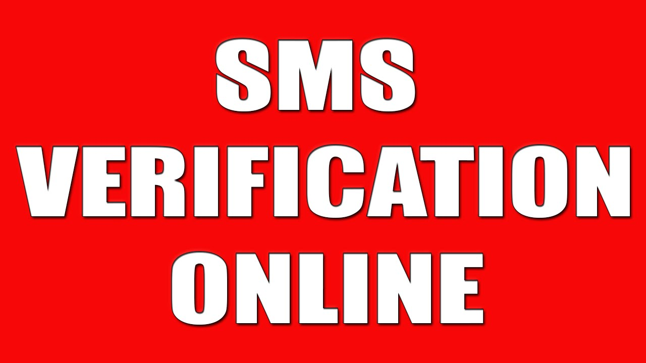 SMS VERIFICATION ONLINE - Gmail/Google, Facebook, YT, Twitter, etc