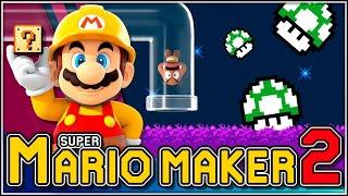 Rondita de niveles!!! | Super Mario Maker 2 - Directo