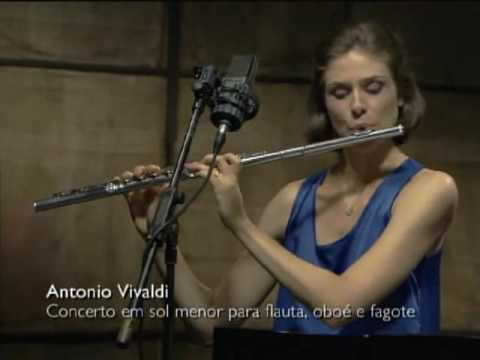 Trio Capitu no programa Partituras - TVBRASIL