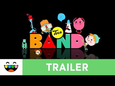 Jam in a Band | Toca Band | Gameplay Trailer | @TocaBoca