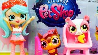 Shopkins Happy Places & Littlest Pet Shop | Zwierzątka | Bajki dla dzieci i unboxing