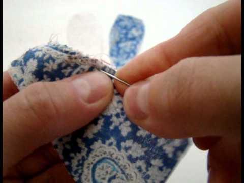 Как сделать Петельный шов   Ручные швы   Как сшить мягкую игрушку своими руками