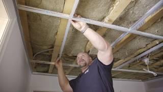 Installer un plafond suspendu