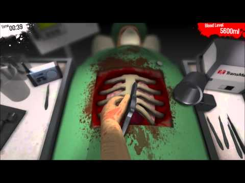 Valentines Day Special - The Best Way To A Man's Heart Is Through His Rib Cage - Surgeon Simulator