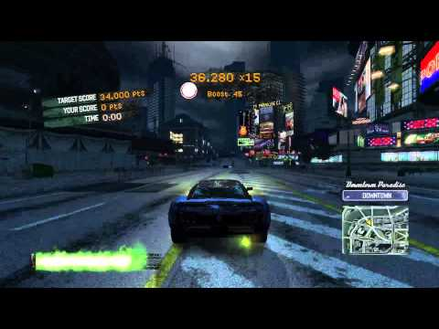 Burnout Paradise single segment 120 Billboards 56:28 (commentary)