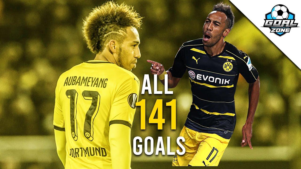 Download Pierre-Emerick Aubameyang - All 141 Goals for Borussia Dortmund