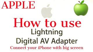 Apple Lightning digital AV adapter audio and charge | TeCh woRk SHop Pro