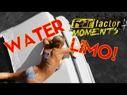 Fear Factor Moments | Underwater Limo Escape
