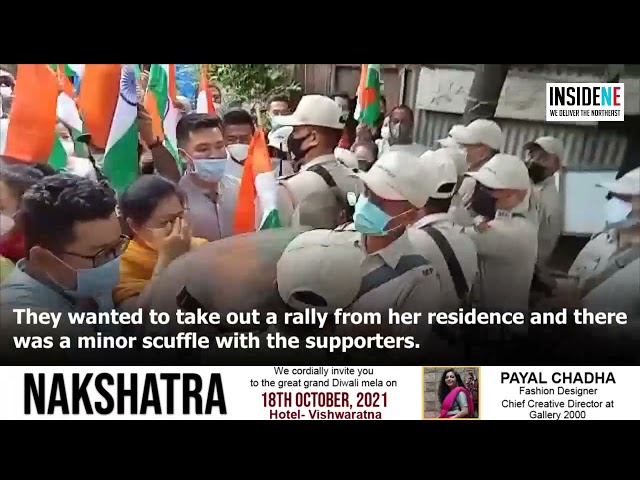 Manipur Women Supercop Th. Brinda's election rally stoped