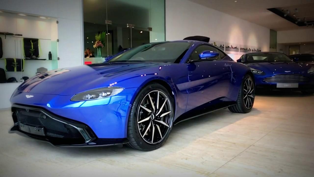 Aston Martin Leeds - New Vantage in Zaffre Blue - YouTubeAston Martin Vanquish Blue