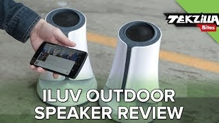 Jam Out Anywhere: iLuv SyrenPro Outdoor Bluetooth Speaker Review