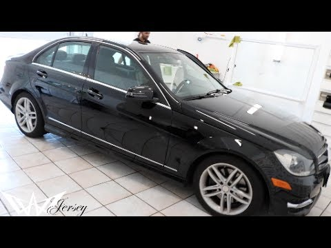 Window Tinting Mn >> BLACK 2014 MERCEDES BENZ C300 TINTED BY WINNING WINDOW TINTS! - YouTube