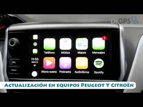 Actualización de GPS  Peugeot Citroen (Táctil) + Fotomultas + Software