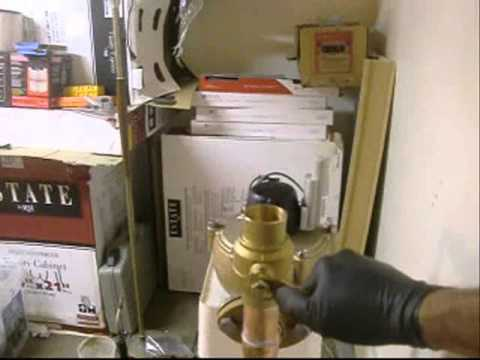 water meter hook up