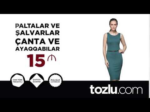 Tozlu.com | Azərbaycana pulsuz çatdırılma və qapıda ödəmə fürsəti!