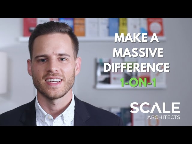 Make a Massive Difference by Meeting 1 on 1