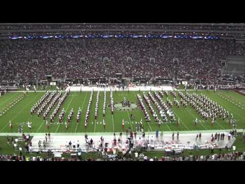 University of Alabama Million Dollar Band Pregame Show   Al vs Ole Miss 9/29/2012