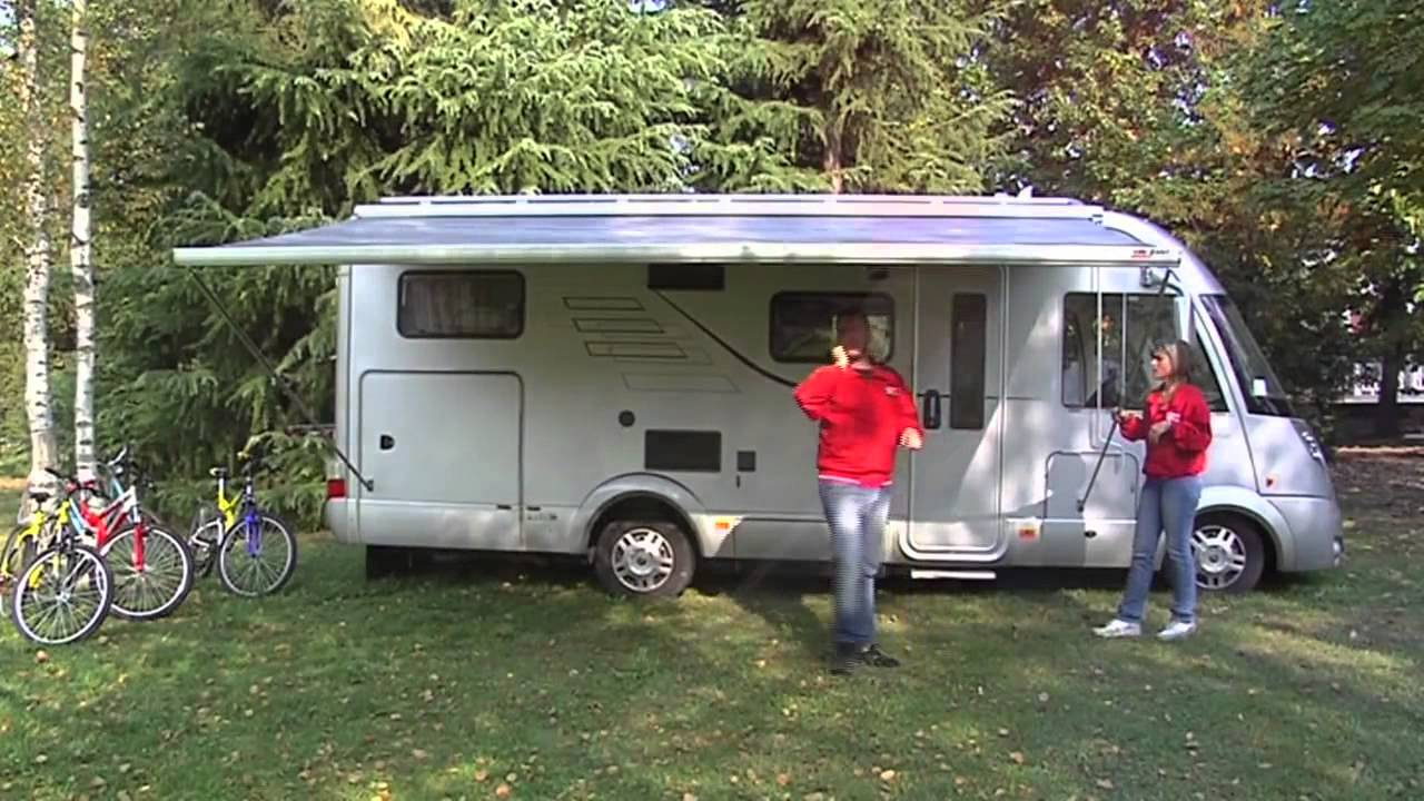 Fiamma F45 L Large Caravan And Motorhome Awning Youtube