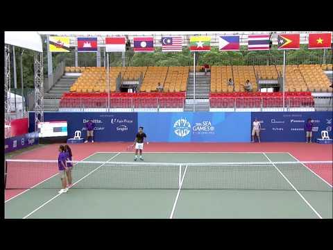 Tennis - Men's Doubles Quarter-Finals (Day 6) | 28th SEA Games Singapore 2015