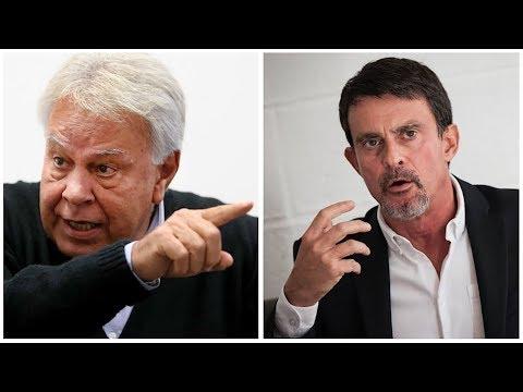 Felipe González y Manuel Valls debaten sobre el futuro de Europa, España y Francia   DIRECTO