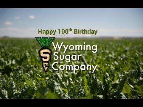 Wyoming State Senator John Barrasso speaks to commemorate the Wyoming Sugar Company Centennial.