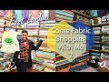 COME FABRIC SHOPPING WITH ME IN EAST LONDON | LIFE AFTER FASHION SCHOOL #10 | KIM DAVE