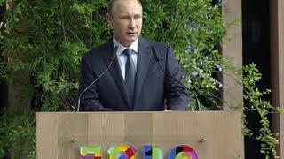 Путин назвал Италию важнейшим торговым партнером России